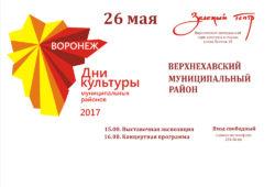 Дни культуры муниципальных районов 2017