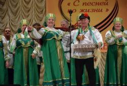 Ветераны спели в Острогожске