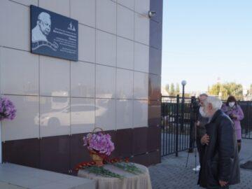 В Хохольском районе появилась памятная доска кинорежиссёру Василию Панину