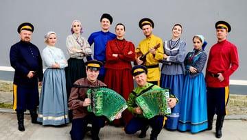 Поздравление от ансамбля традиционной песни Астраханские казаки