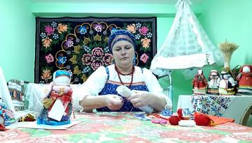 Мастер-класс по изготовлению традиционной куклы-Коляды