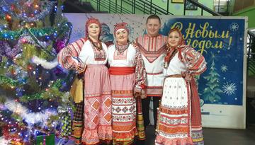 народной песни Славяне
