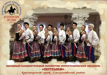 Народный самодеятельный коллектив хореографический ансамбль «Потешки»