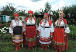 Фольклорно-этнографическая экспедиция в Репьёвский район